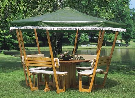 pavillons rosamunde produkte f r gartenfreunde wohnen bader. Black Bedroom Furniture Sets. Home Design Ideas