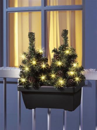 Weihnachtsdekoration au en solar und led leuchtmittel - Bader weihnachtsdeko ...