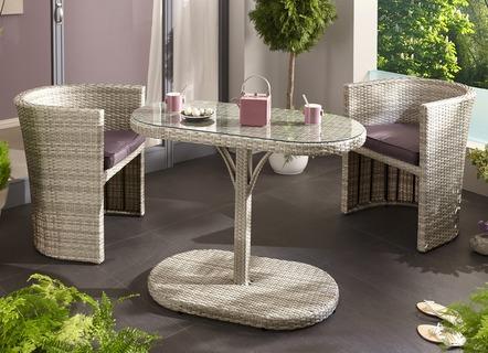 Balkonmöbel set platzsparend  Garten- und Balkonmöbel in schicken Designs und hübschen Farben