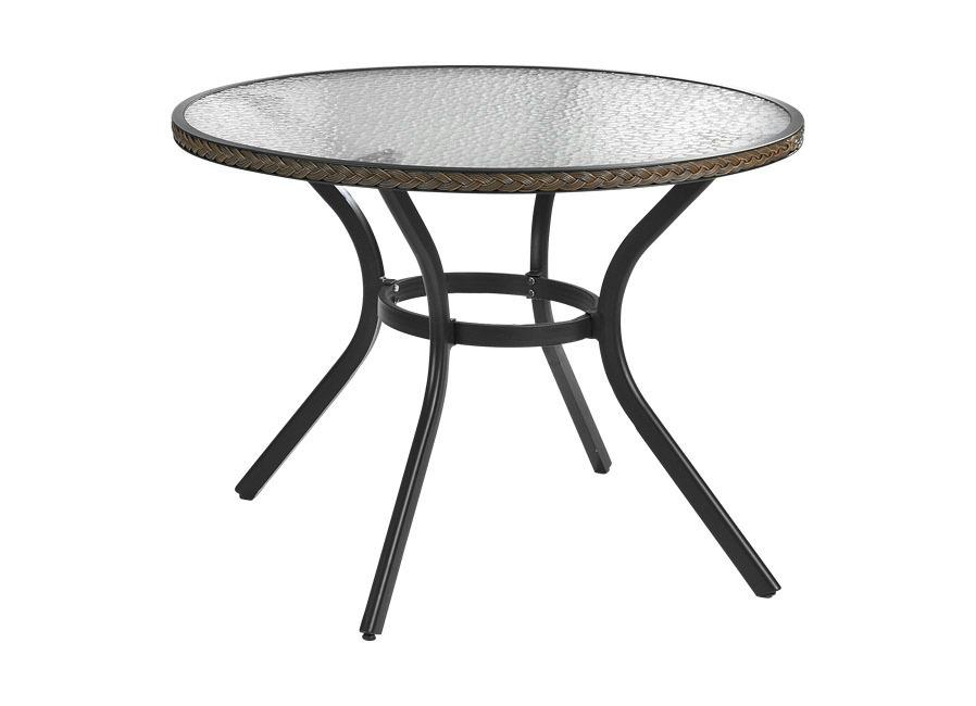 Tisch Ravenna  Tisch rund Braun Preisvergleich
