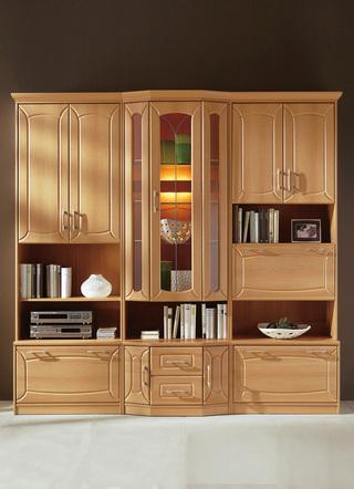 Anbauwand f r ihr wohnzimmer stilvoll und praktisch - Klassische wohnwand ...