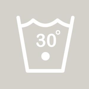 Waschhinweise für Buntwäsche bei 30 Grad
