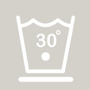Waschhinweise für pflegeleichte Wäsche bei 30 Grad