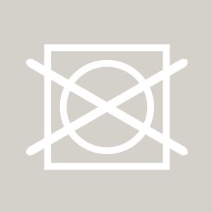 Trocknersymbol, dass Wäsche nicht im Wäschetrockner getrocknet werden darf